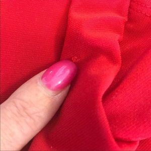 City Triangles Dresses - Sexy Red City Triangle One Shoulder Dress Sz L
